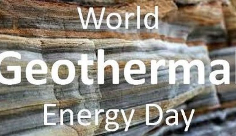 World Geothermal Energy Day